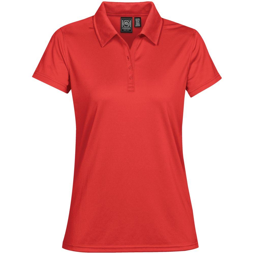Рубашка поло женская Eclipse H2X-Dry, красная