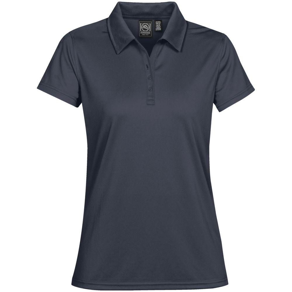 Рубашка поло женская Eclipse H2X-Dry, темно-синяя