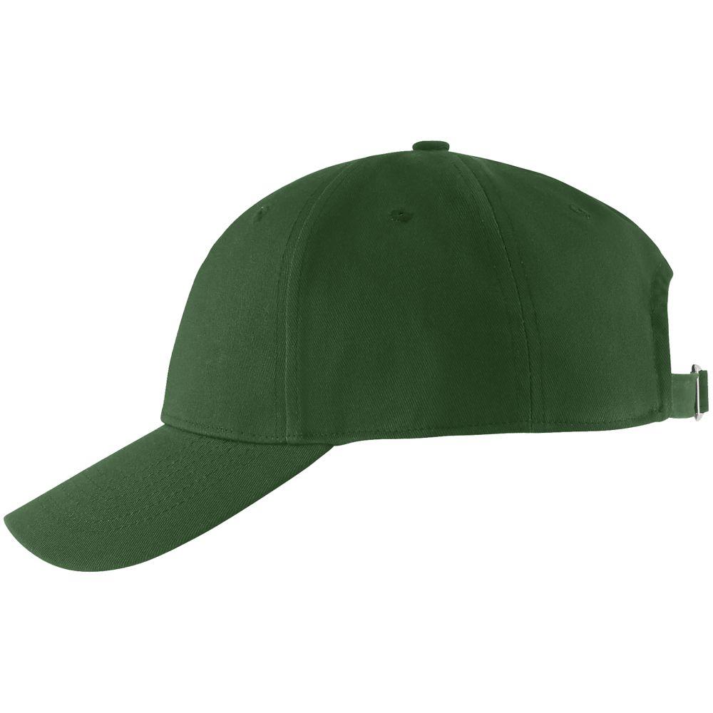 Бейсболка Blaze, темно-зеленая