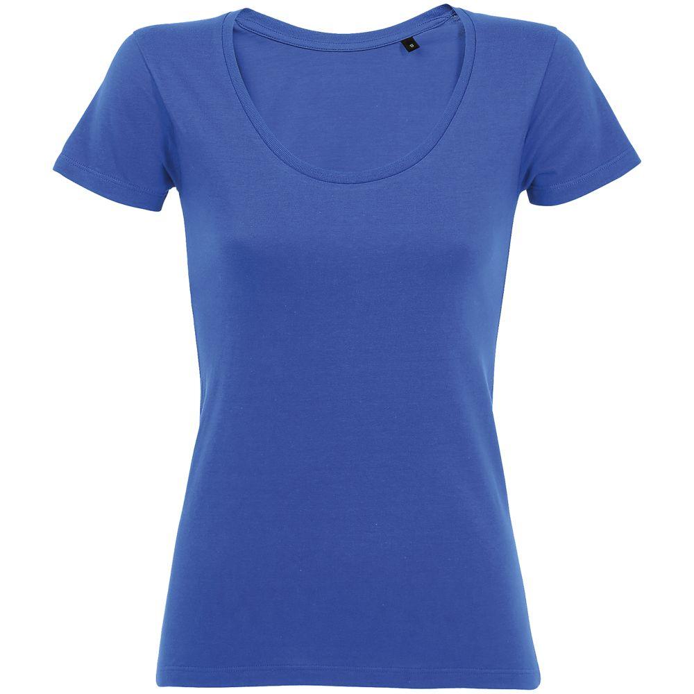 Футболка женская METROPOLITAN, ярко-синяя