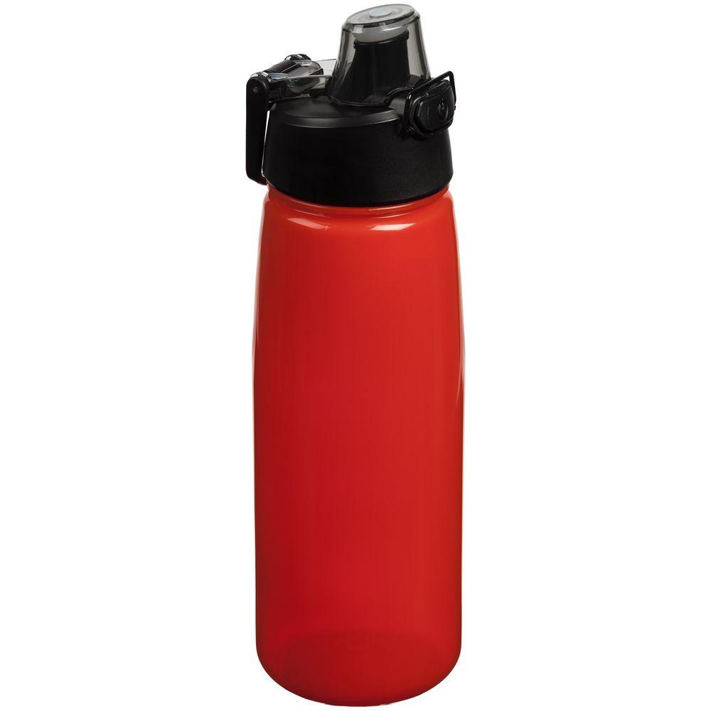 Спортивная бутылка Rally, красная
