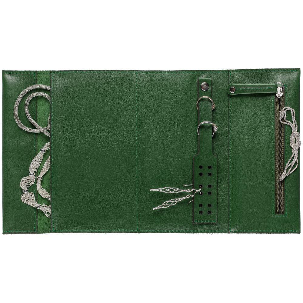 Органайзер для украшений Apache, зеленый