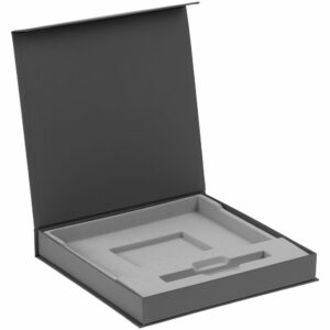 Коробка Memoria под ежедневник и ручку, серая