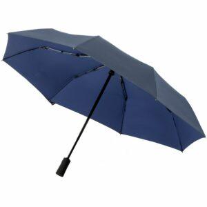 Складной зонт doubleDub, синий