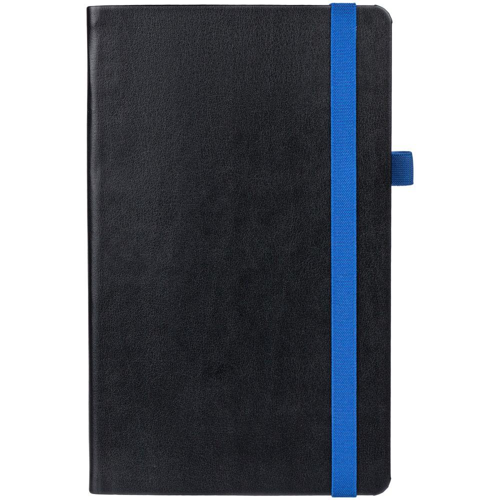 Ежедневник Ton недатированный, черный с синим
