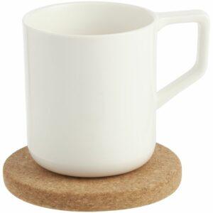 Чайная пара Riposo, большая, белая