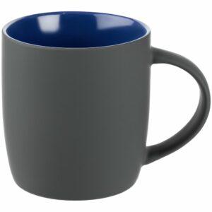 Кружка Surprise Touch c покрытием софт-тач, синяя