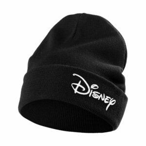 Шапка с вышивкой Disney, черная