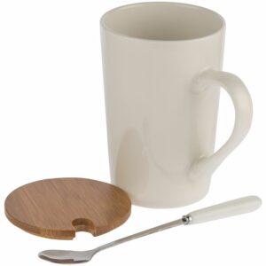 Кружка Parley с ложкой и бамбуковой крышкой