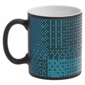 Кружка Big Data матовая, черная