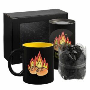 Набор «Булки горят» с чаем