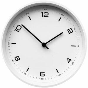 Часы настенные Ice, белые