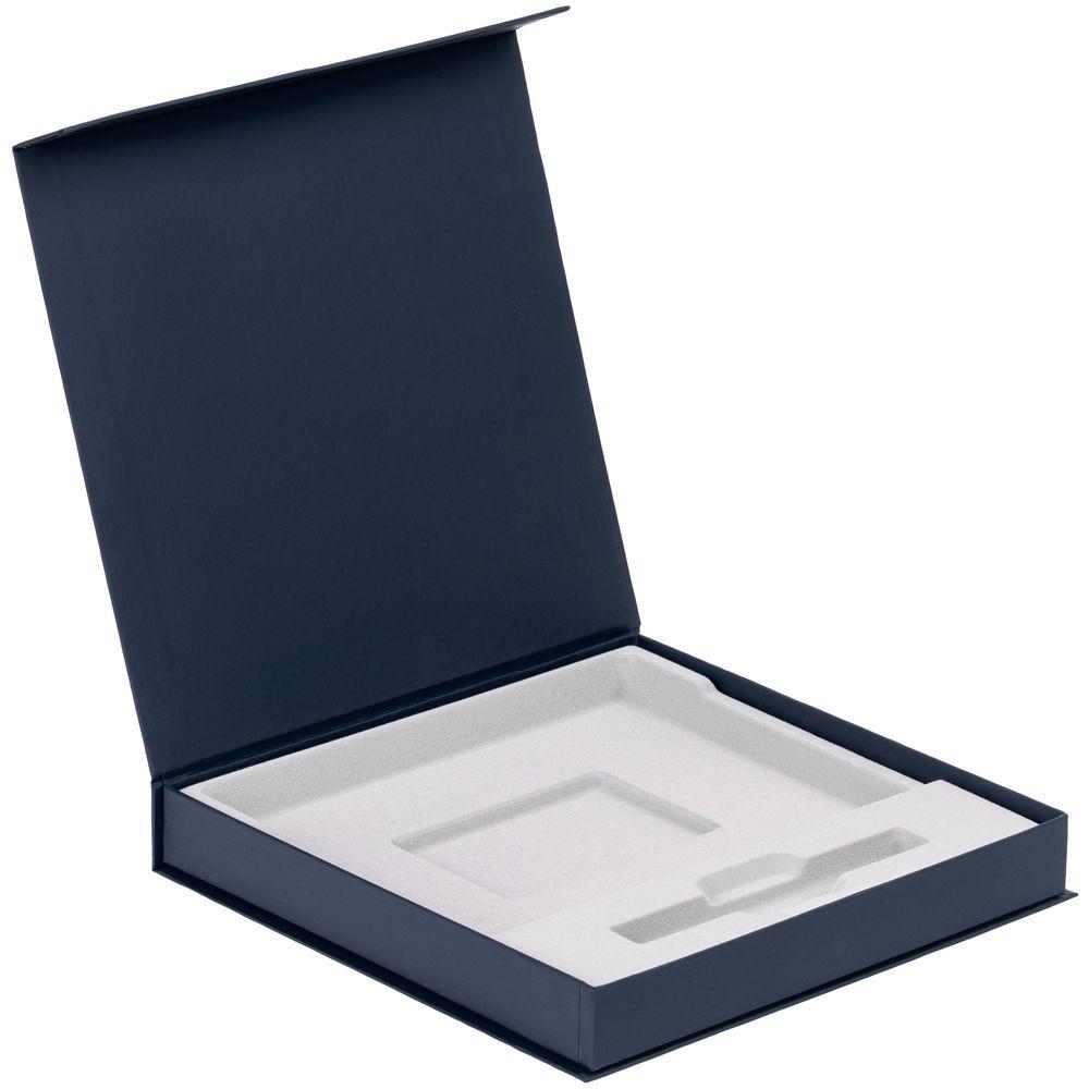 Коробка Memoria под ежедневник и ручку, синяя