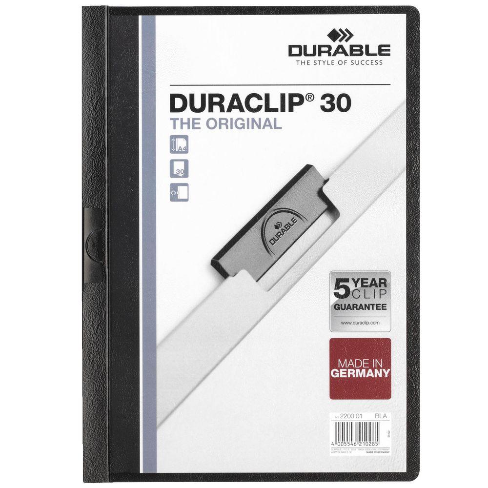 Папка Duraclip Original, черная