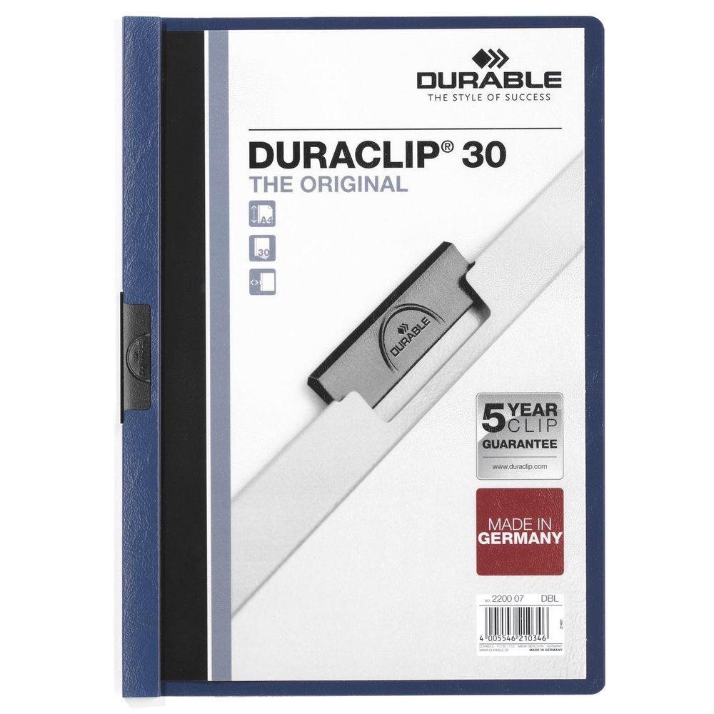 Папка Duraclip Original, синяя