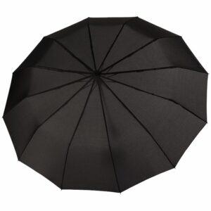 Зонт складной Fiber Magic Major с кейсом, черный