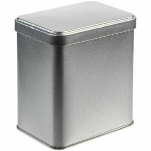 Коробка прямоугольная Jarra, серебро