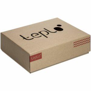 Коробка Teplo, большая, крафт