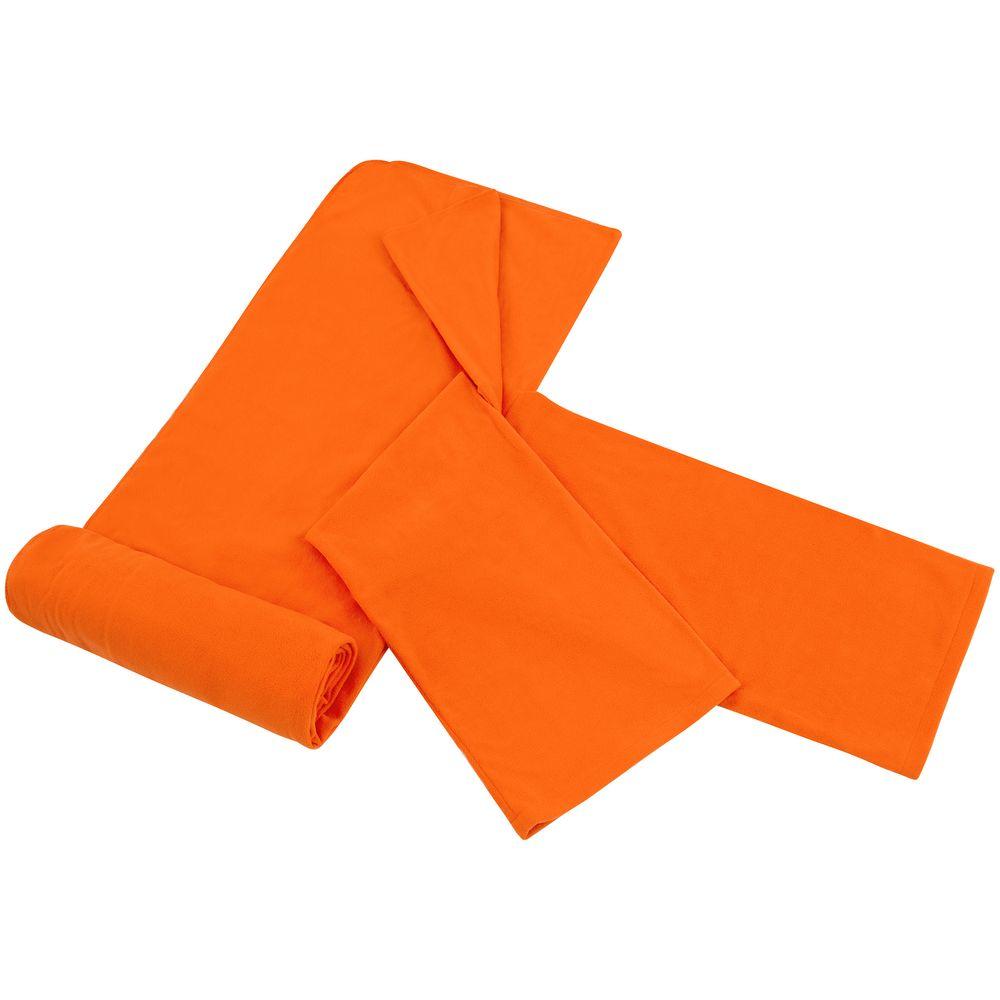 Плед с рукавами Lazybones, оранжевый