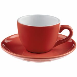 Чайная пара Cozy Morning, красная