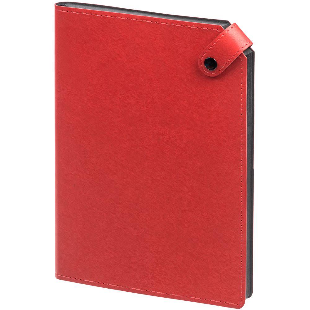 Ежедневник Angle, недатированный, красный