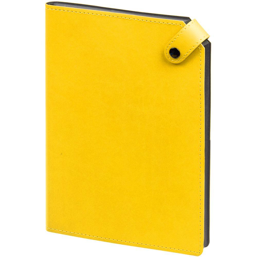Ежедневник Angle, недатированный, желтый