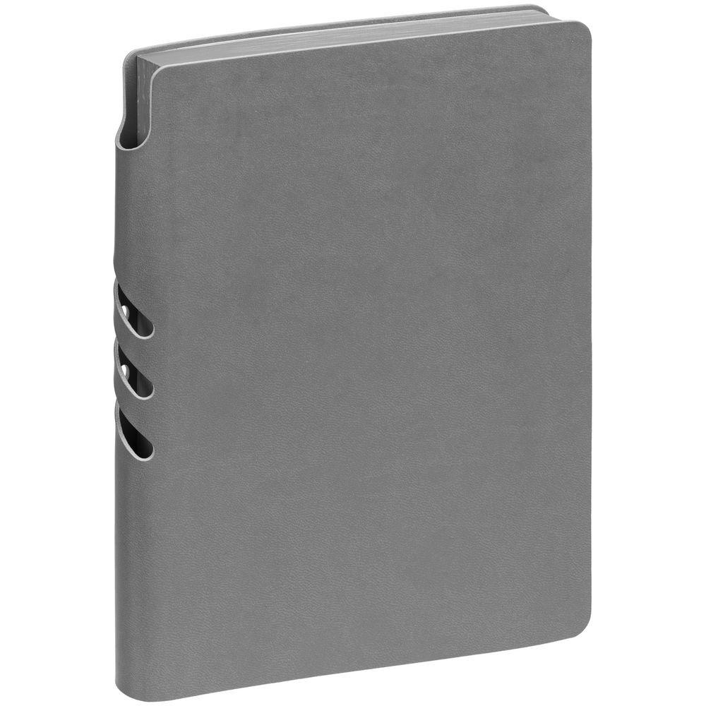Ежедневник Flexpen Color, датированный, серый