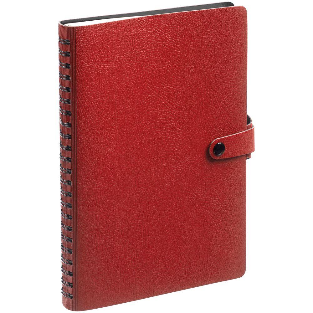 Ежедневник Strep, недатированный, красный