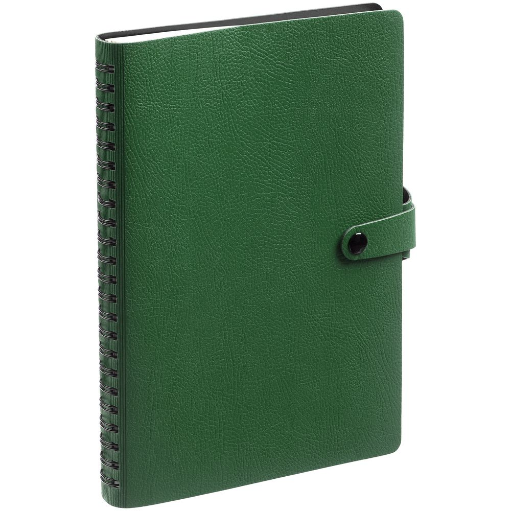 Ежедневник Strep, недатированный, зеленый