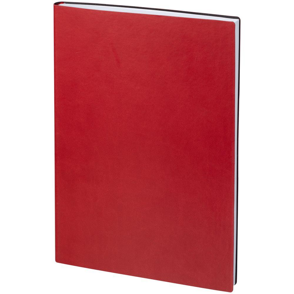 Ежедневник Latte, недатированный, красный