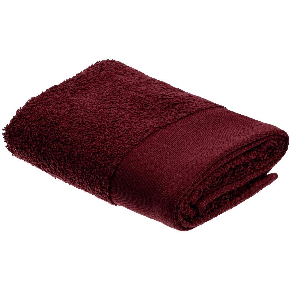 Полотенце Odelle, малое, бордовое