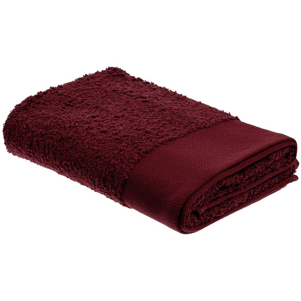 Полотенце Odelle, среднее, бордовое
