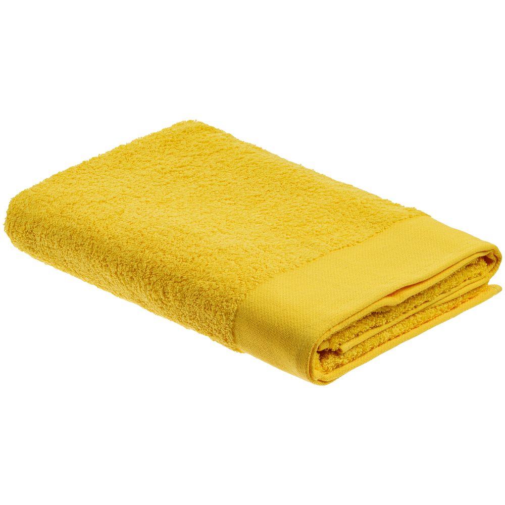 Полотенце Odelle, большое, желтое