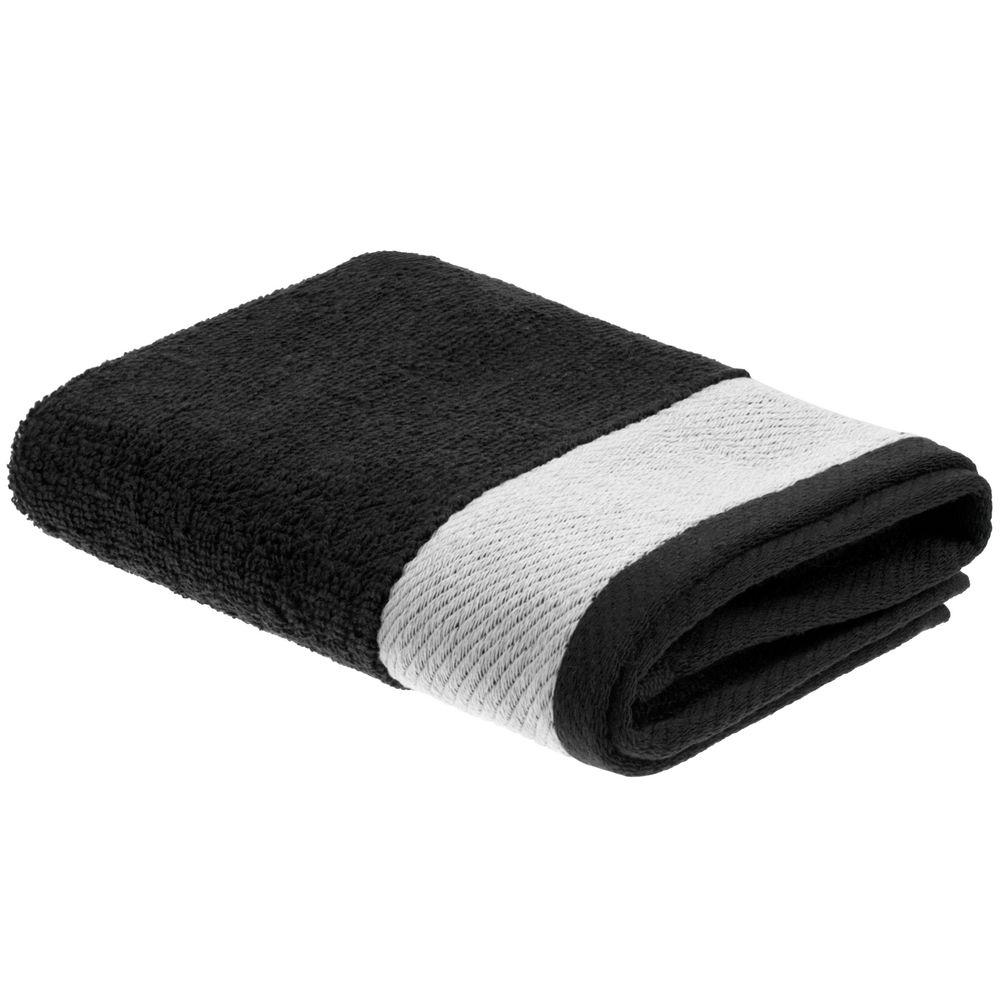 Полотенце Etude, большое, черное