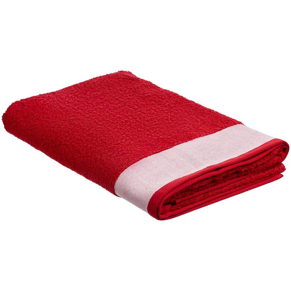 Полотенце Etude, большое, красное