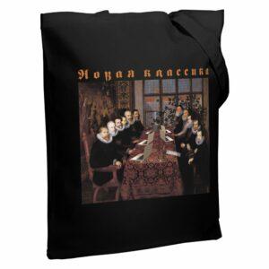 Холщовая сумка «Новая классика. Dream Team», черная
