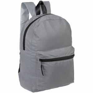 Городской рюкзак Manifest из светоотражающей ткани, серый