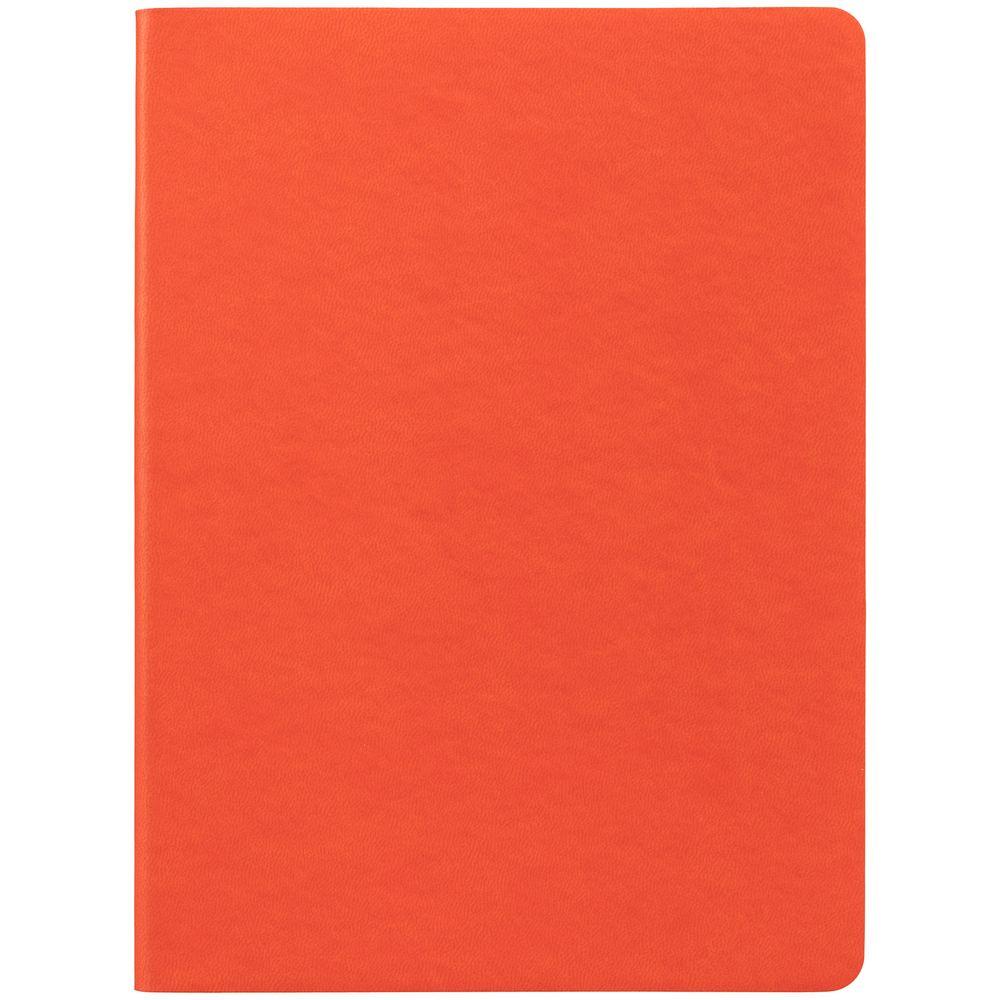 Блокнот Verso в клетку, оранжевый