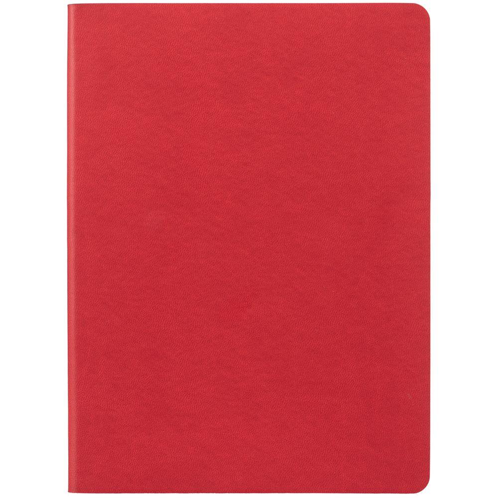 Блокнот Verso в клетку, красный