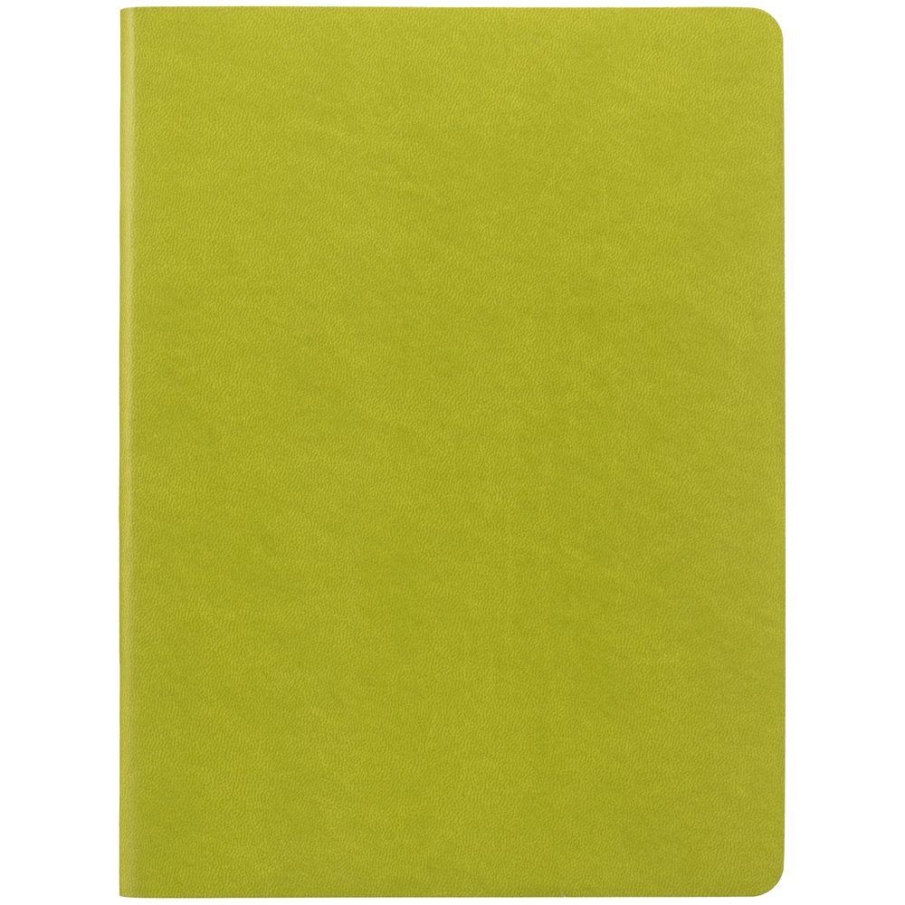 Блокнот Verso в клетку, светло-зеленый