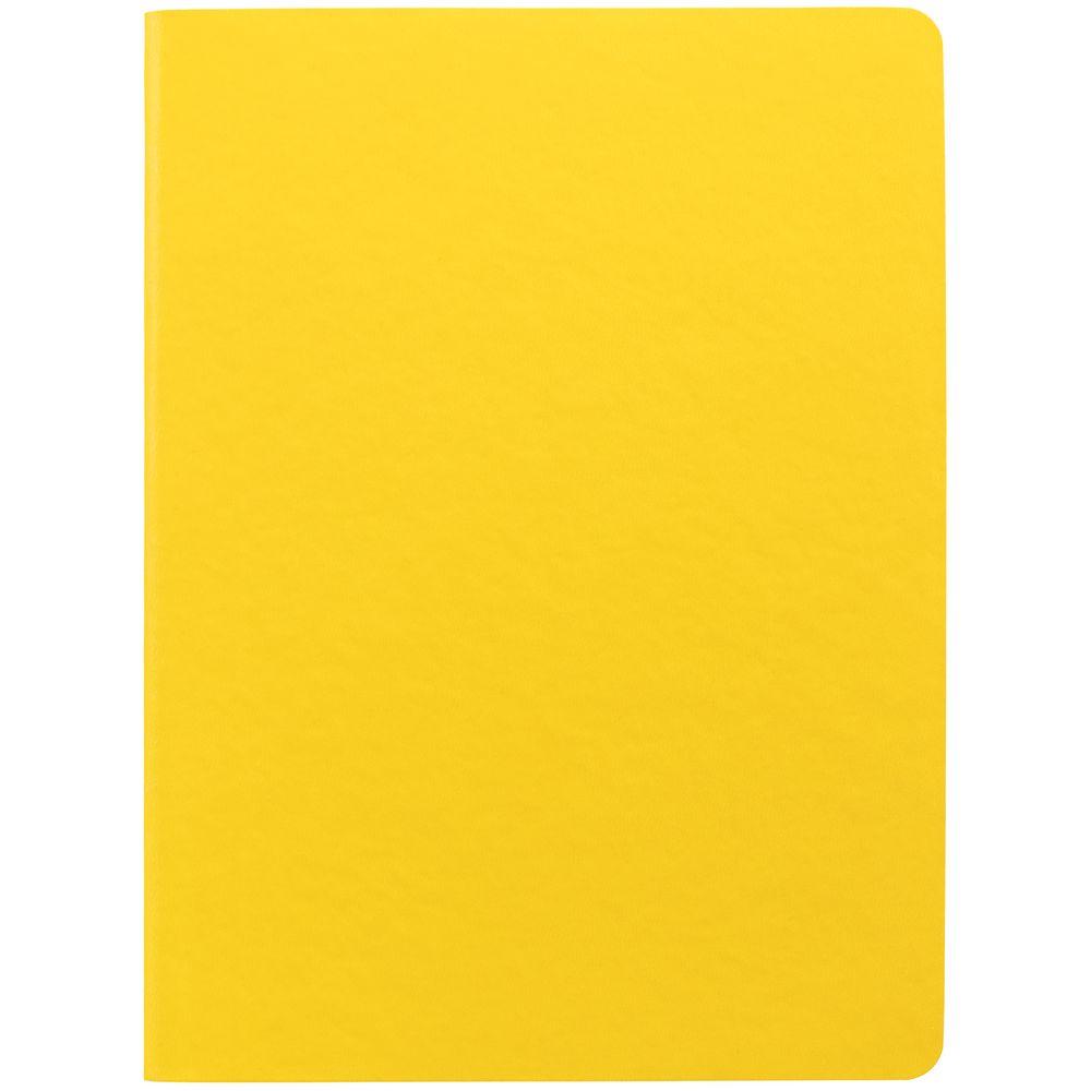 Блокнот Verso в клетку, желтый