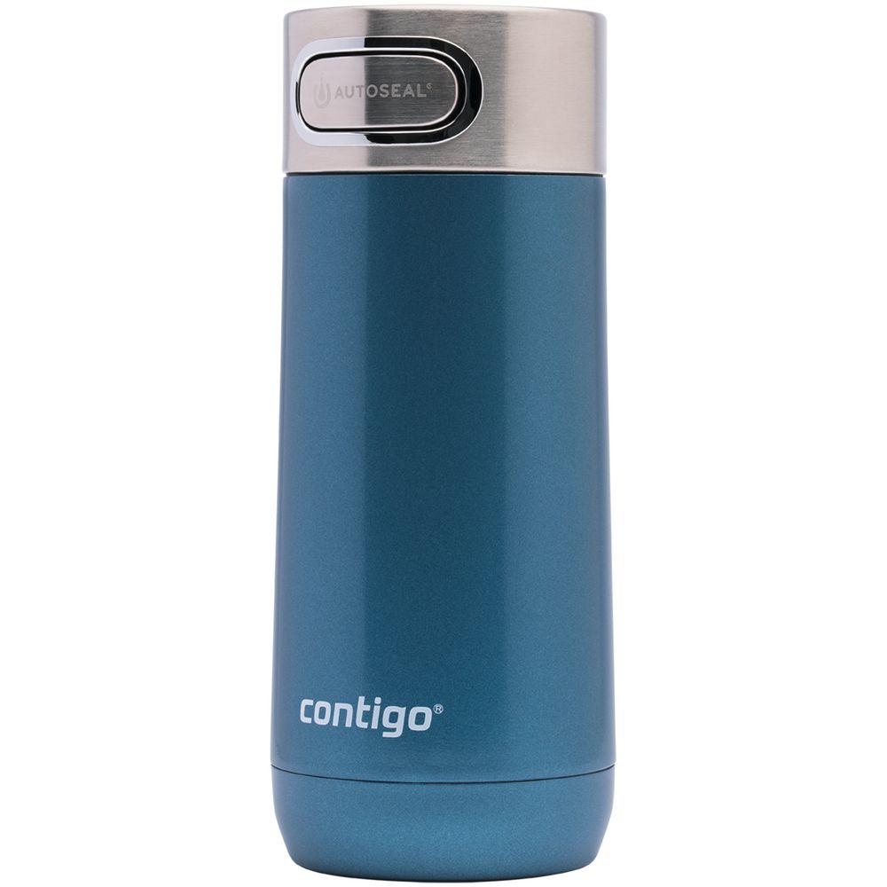 Термостакан Luxe, вакуумный, герметичный, синий