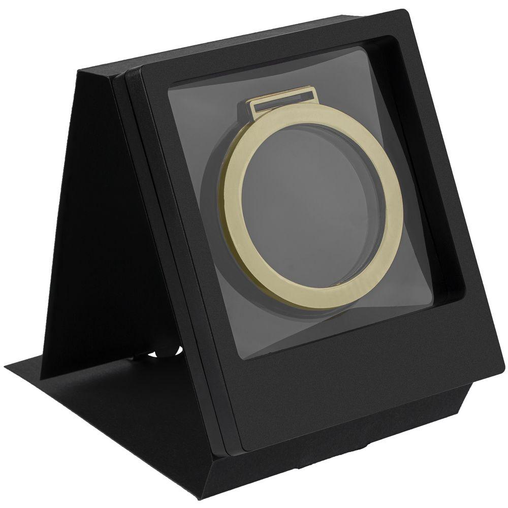 Рамка Transparent с шубером, черный