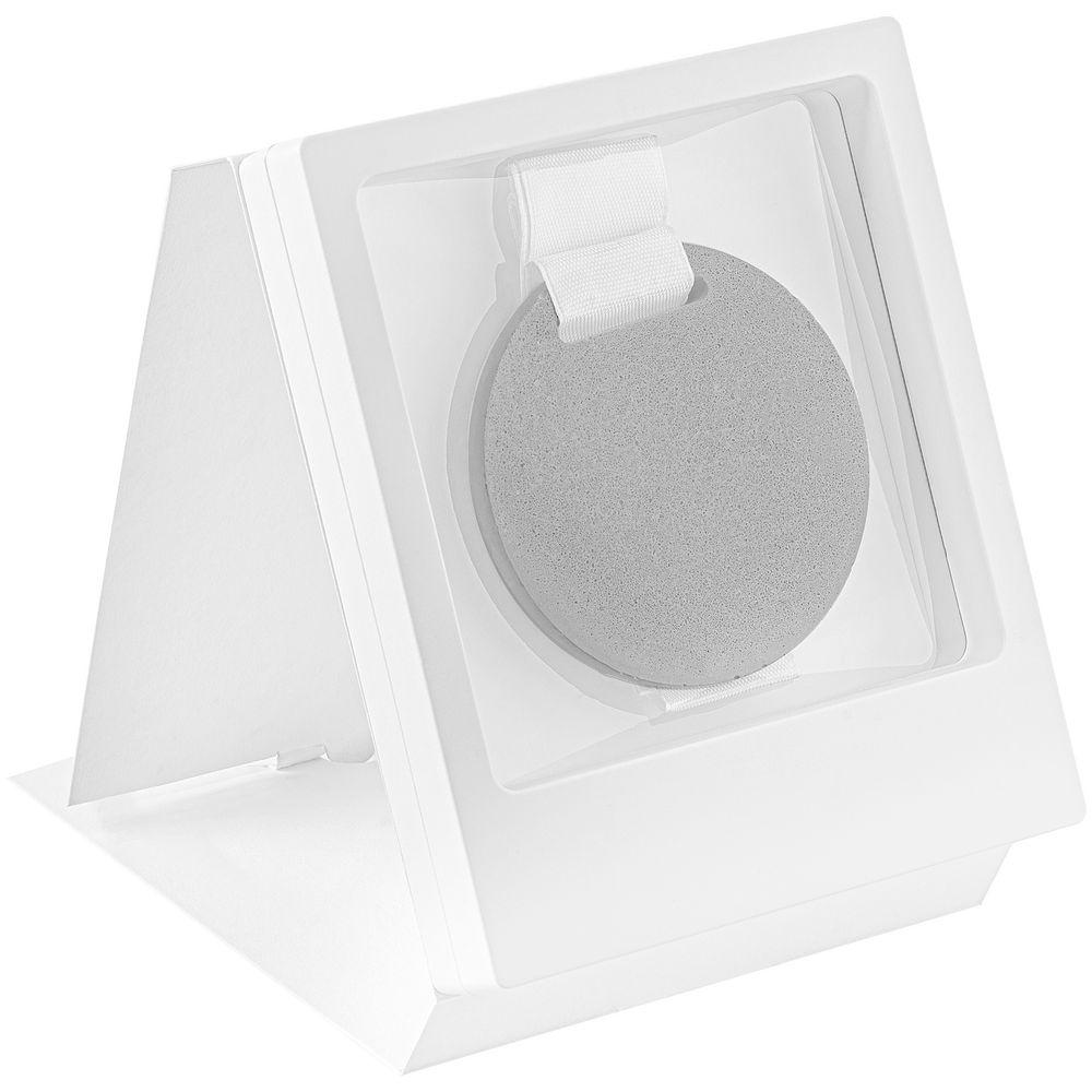 Рамка Transparent с шубером, белый