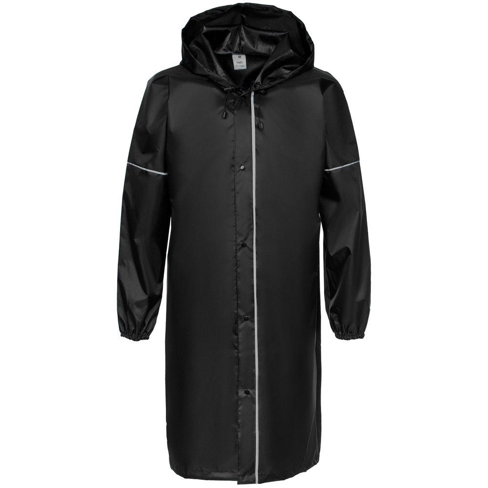 Дождевик со светоотражающими элементами Rainman Blink, черный