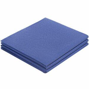 Складной коврик для занятий спортом Flatters, синий
