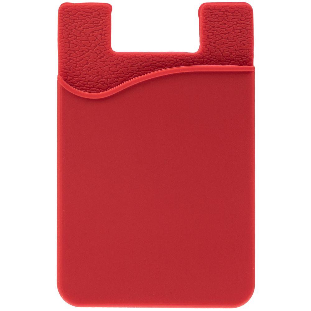 Чехол для карты на телефон Shelley, красный
