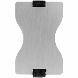 Футляр для карт Muller c RFID-защитой, серебристый
