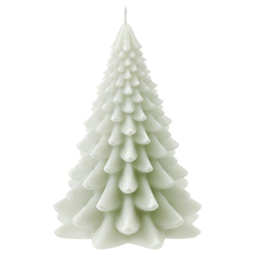 Свеча Homemate Tree, зеленая