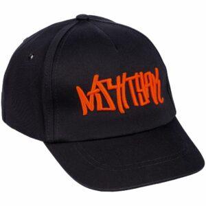 Бейсболка с вышивкой Nishtyak, черная